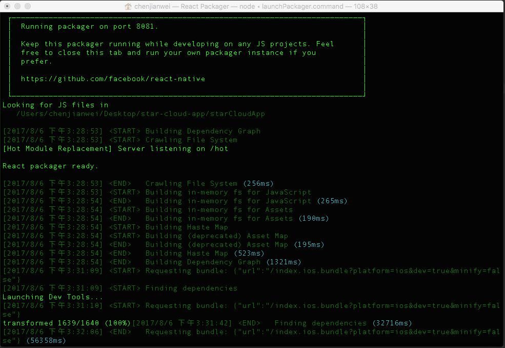 npm服务加载